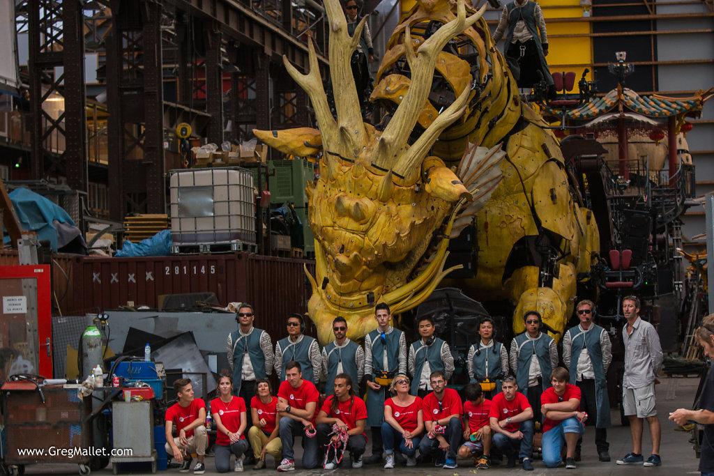 Long Ma et son équipe technique