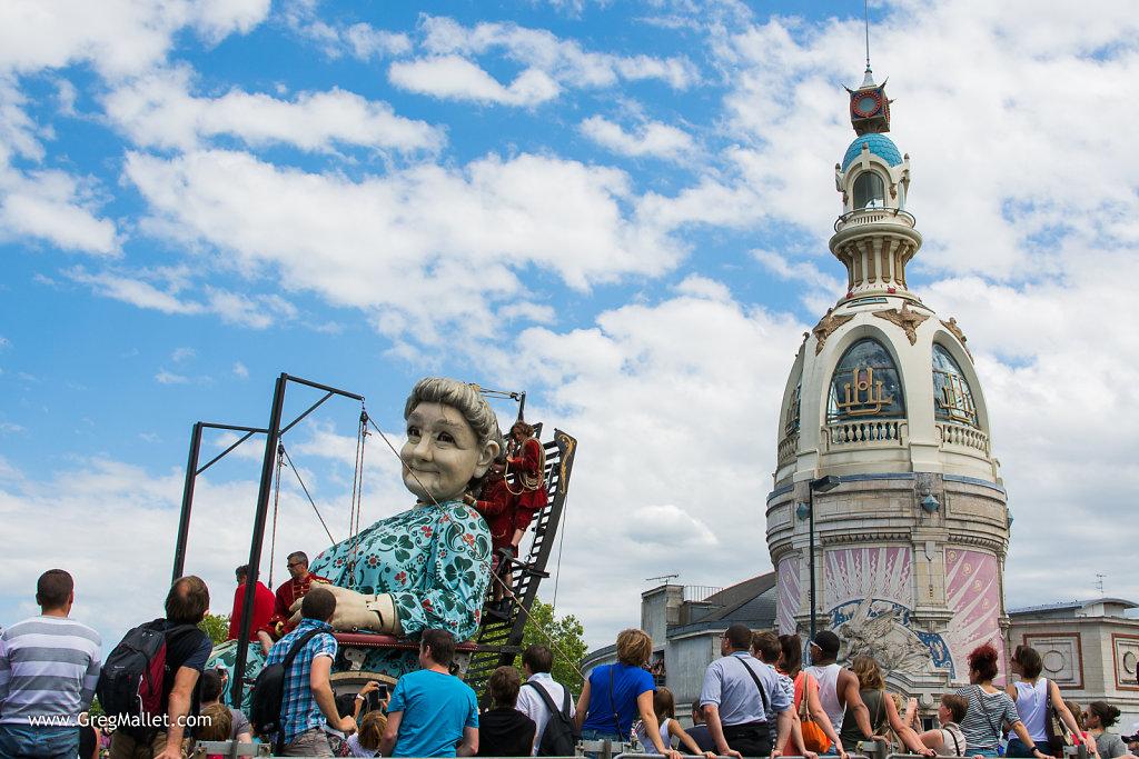 Royal de Luxe à Nantes